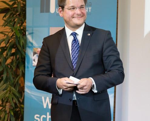 Rektor Oliver Vitouch | Foto: aau/Waschnig