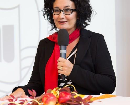 Vizerektorin Cristina Beretta | Foto: aau/Waschnig