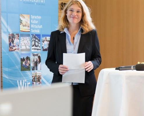 Vizerektorin Friederike Wall | Foto: aau/Waschnig