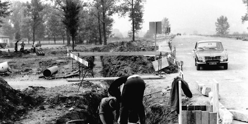 Bau Vorstufe historisch   Foto: aau.at/Martin Hitz