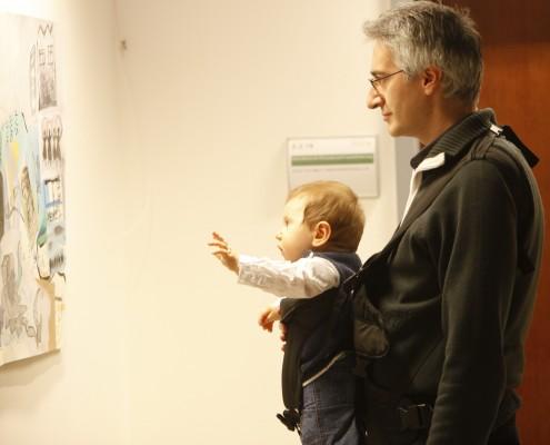 Andreas Bollin mit Nachwuchs | Foto: aau/Maurer