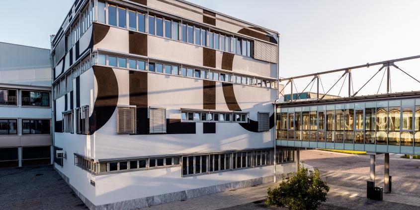Bibliothekswürfel der Universität Klagenfurt