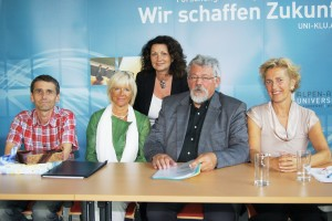 Siegfried Stupnig, Maria Lind, Elisabeth Scheucher, Klaus Ottomeyer, Cornelia Seidl-Gevers | Foto: aau/KK