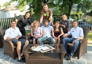 "SpitzensportlerInnen im Projekt ""Spitzensport und Studium"" | Foto: aau/Kuess"