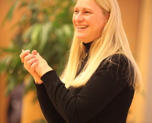 Elisabeth Bergmeister war eine der sechs Vortragenden   Foto: aau/Hoi
