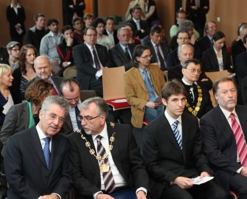 Promotio sub auspiciis Praesidentis   Foto: aau/Hoi