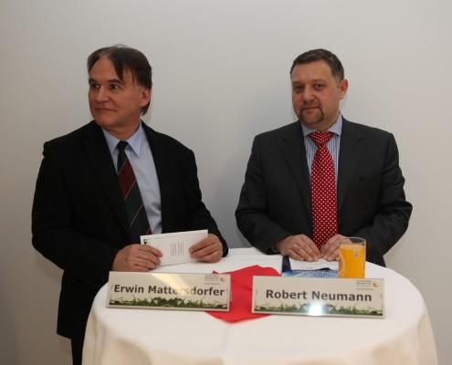 Erwin Mattersdorfer und Robert Neumann | Foto: aau/Hoi
