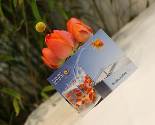Symbol des Neujahrsempfanges 2010: der Fisch | Foto: aau/Hoi