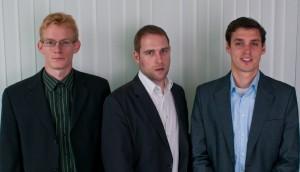 Clemens Eberwein, Jörg Kerschbaumer und Matthias Reichhold | Foto: Build!:
