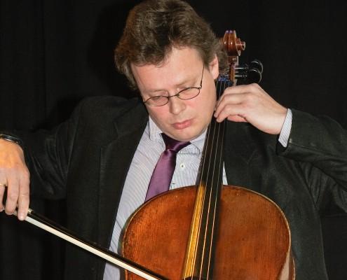 Konzept-Improvisation von Claudius von Wrochem, Violoncello | Foto: aau/AMUWI