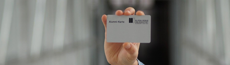 Alumni-Karte der Universität Klagenfurt