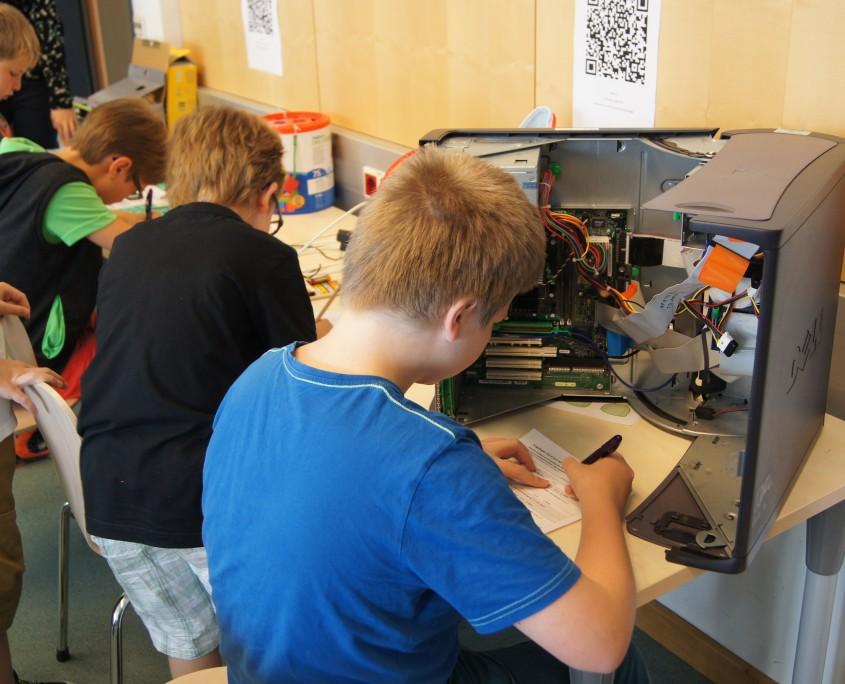 Informatik-Werkstatt 2014 | Foto: aau