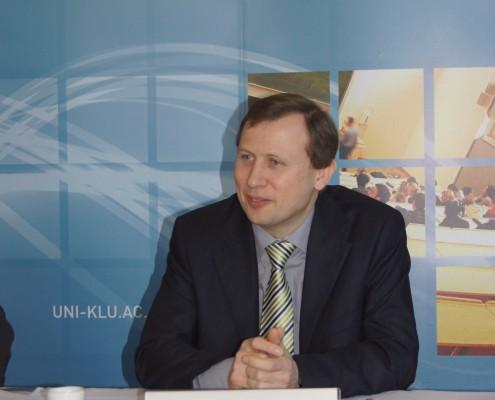 Dekan Erich Schwarz | Foto: aau/Krömer