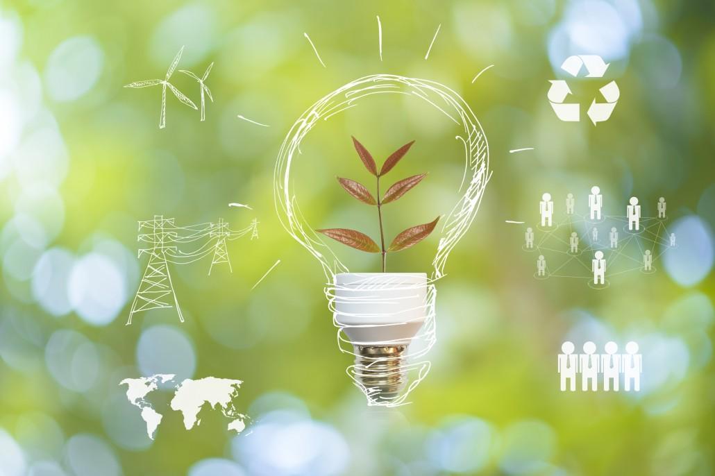 Energiemanagement Glühlampe Symbolfoto