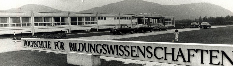 Hochschule für Bildungswissenschaften, Vorstufe historisch | Foto: aau.at