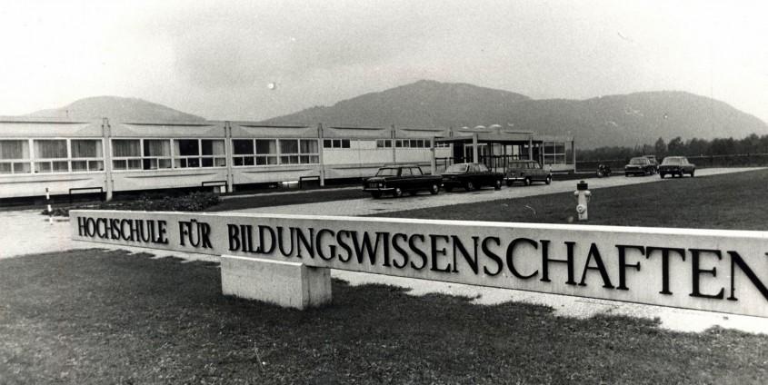 Hochschule für Bildungswissenschaften, Vorstufe historisch   Foto: aau.at