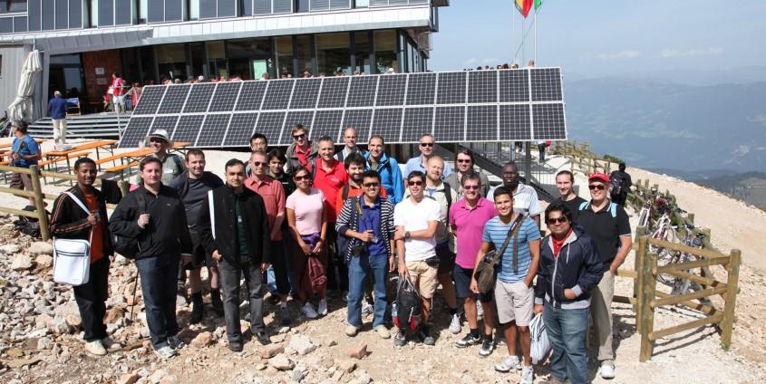 TeilnehmerInnen der Summer School am Dobratsch | Foto: aau/KK