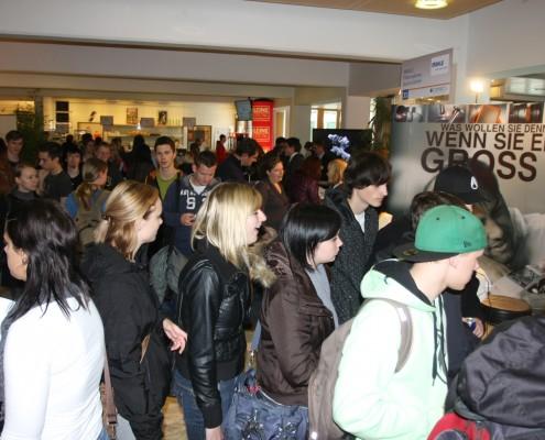 Großer Besucherandrang bei der connect 2010 | Foto: aau/wajand