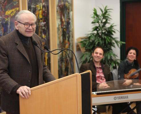 Felix Orsini-Rosenberg bei seiner Ansprache | Foto: aau/Hoi