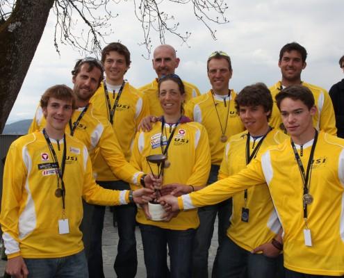 Das Profi-Siegerteam: das Team der Alpen-Adria-Universität Klagenfurt | Foto: aau/Hoi