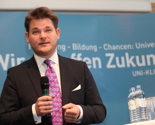 Senatsvorsitzender Oliver Vitouch | Foto: aau/Hoi
