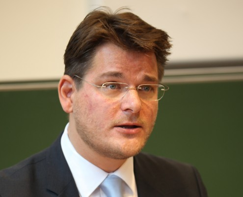 Laudator Univ.-Prof. Mag. Dr. Oliver Vitouch  Foto: aau/Hoi