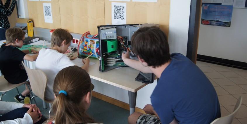 Informatik ein Kinderspiel | Foto: aau/Tewi