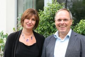 Konrad Krainer, Direktor der SoE und Edith Schneider, stv. Direktorin der SoE | Foto: aau/KK