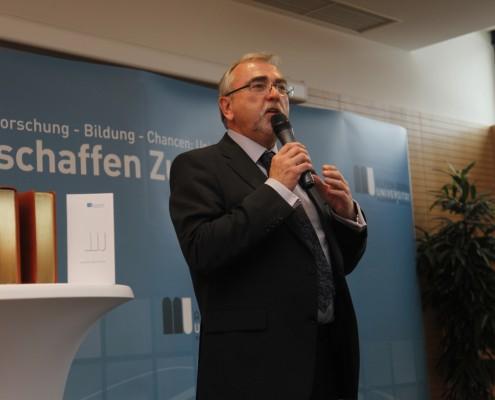 Rektor Heinrich C. Mayr | Foto: aau/Maurer