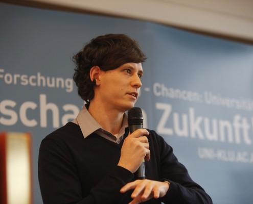 ÖH-Vorsitzender Stefan Sagl | Foto: aau/Maurer