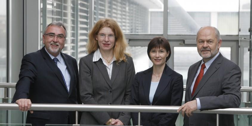 Das Rektoratsteam der Alpen-Adria-Universität Klagenfurt | Foto: aau/Maurer