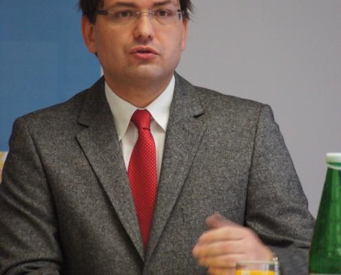 Vorstand der Kärntner Landesholding Hans-Jörg Megymorez   Foto: aau/KK