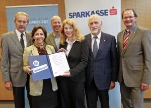Feierliche Unterzeichnung der Kooperationsvereinbarung zwischen Kärntner Sparkasse und Alpen-Adria-Universität Klagenfurt | Foto: aau/Eggenberger