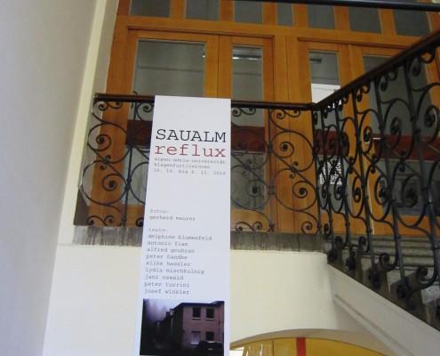 Ausstellung SAUALM reflux am IFZ Graz