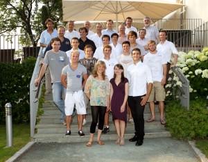"SportlerInnen des Projekts ""Spitzensport und Studium""  Foto: aau/Kuess"