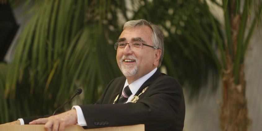 _ Rektor Heinrich C. Mayr begrüßt die Festgäste | Foto: aau/KK