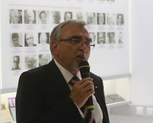 Eröffnung des Reflektoriums durch Rektor Heinrich C. Mayr | Foto: aau/KK