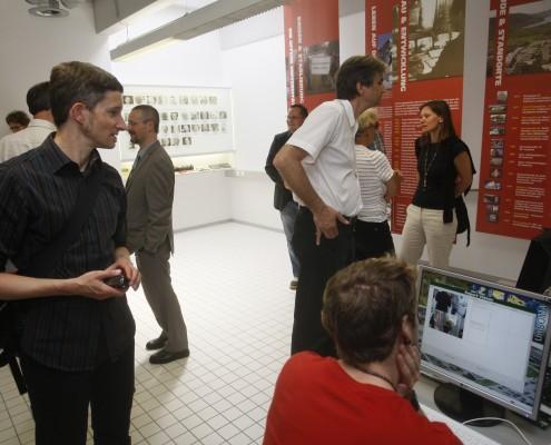 Präsentation der UNIKLU Histories und des SOMA I.T. Projektes im Reflektorium | Foto: aau/KK
