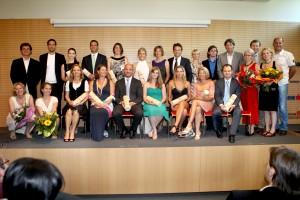 "Erste AbsolventInnen des MAS ""Sport, Health and Entrepreneurship""| Foto: aau/Kuess"