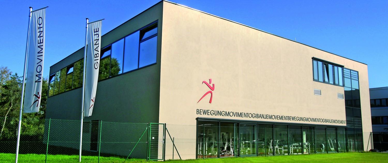 Das Universitätssportinstitut (USI) am Campus