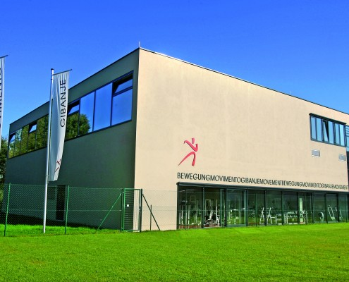 Das Universitätssportinstitut (USI) am Campus