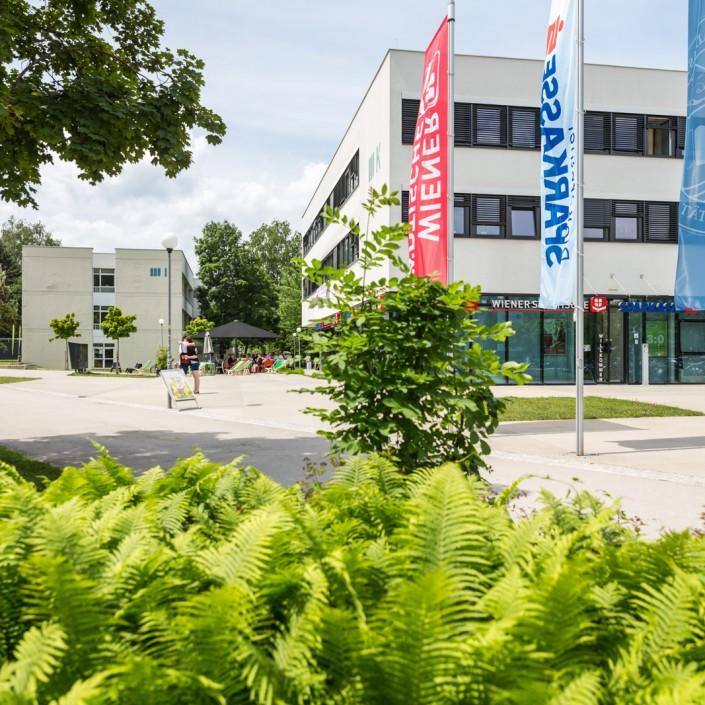 Servicegebäude AAU | Foto: aau/tinefoto.com