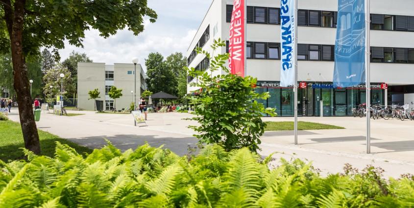 Stiftungsgebäude der Universität Klagenfurt