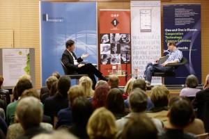 Michael Kerbler im Ö1-Gespräch mit Josef Winkler | Foto: aau/Puch