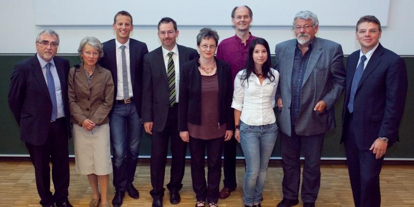 Würdigung verliehener Auszeichnungen | Foto: aau/Wagner