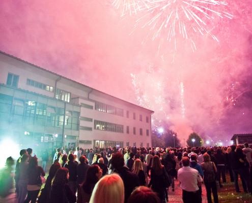 Mitternachtsfeuerwerk | Foto: aau/Wagner