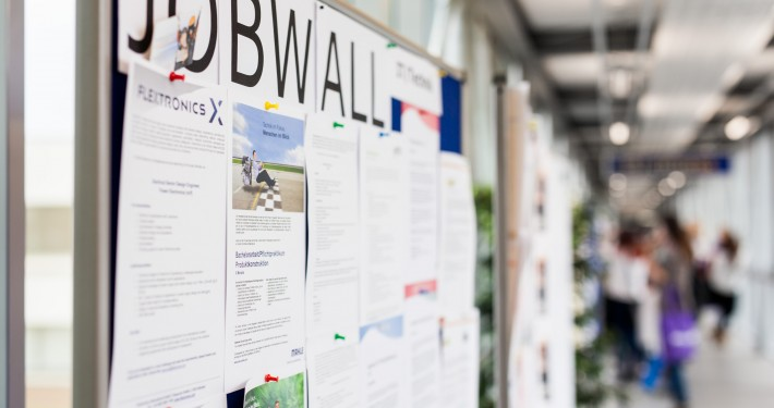 jobwall|Foto: aau/Waschnig