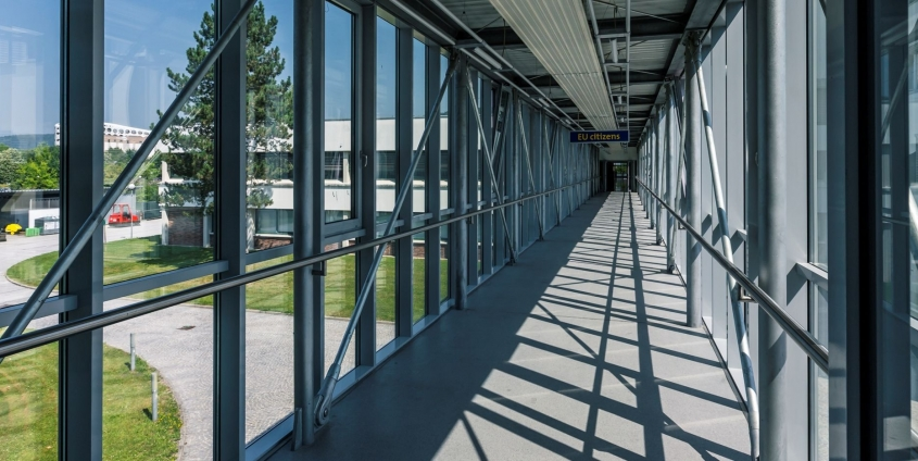 AAU Glasgang Brücke West | Foto: aau/tinefoto.com