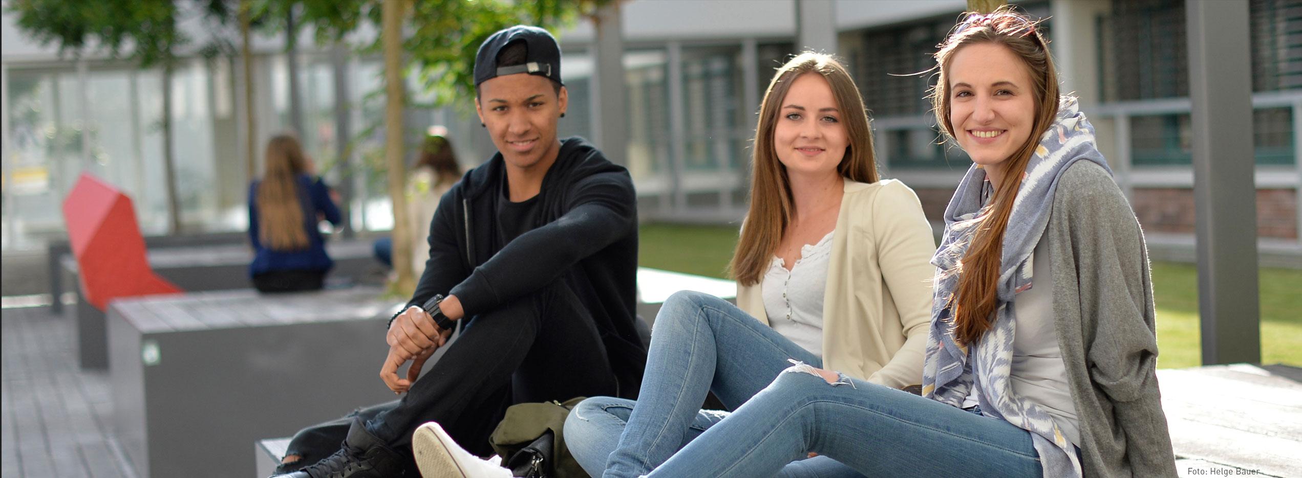 SchülerInnen am Campus | Foto: aau/Helge Bauer