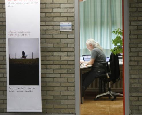 Ausstellung SAUALM reflux im Vorstufengebäude